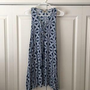 Show Me Your Mumu lace up dress